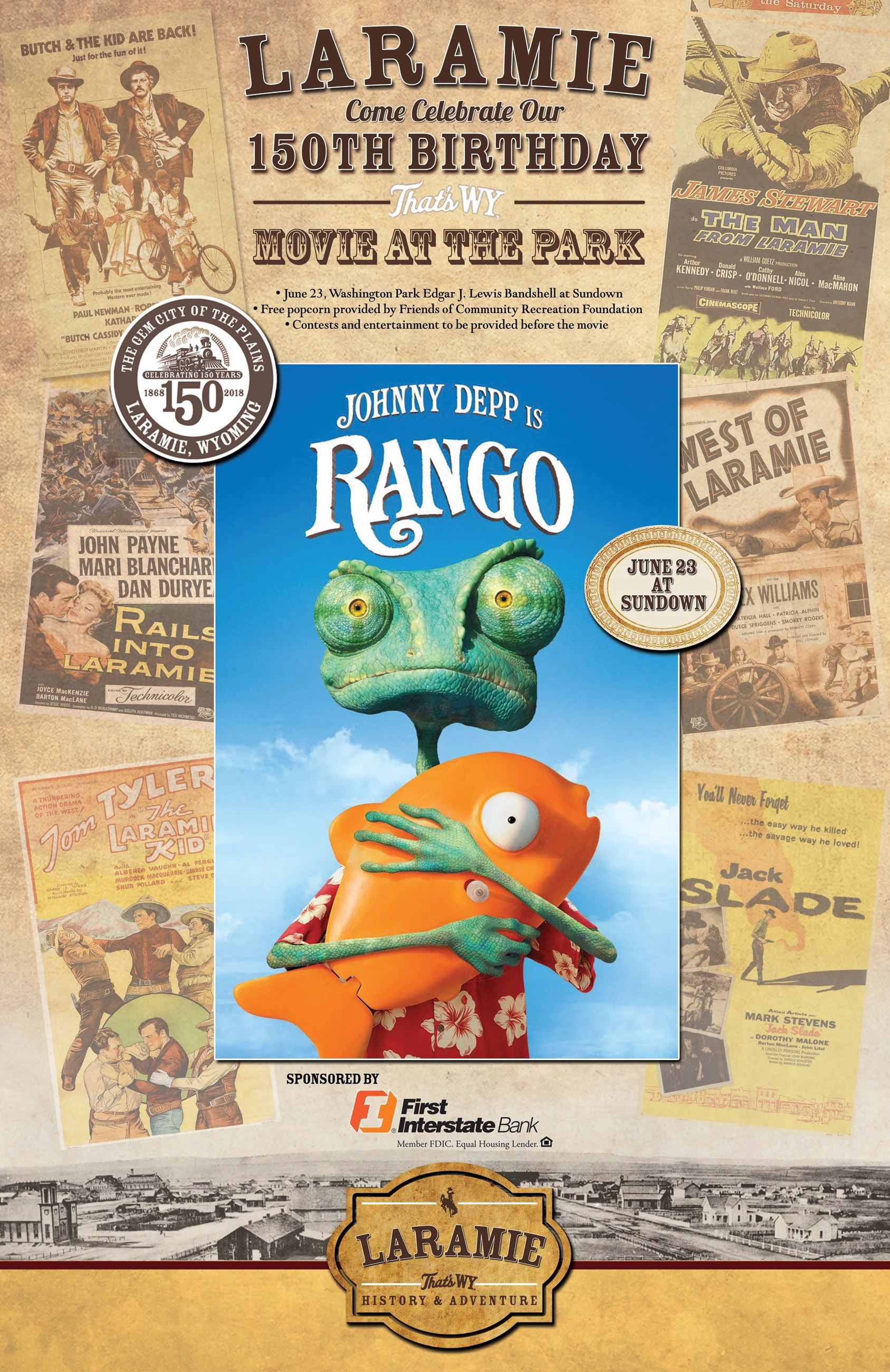 Rango Movie  June 23