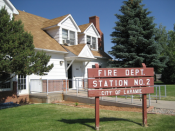 Laramie Fire Department Station 2
